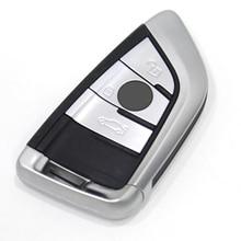 Original 3 Knöpfe/4 Tasten 433 MHz Echten Smart Fernbedienung Smart Auto schlüssel für Neue BMW FEM/BDC und X5 X6 Neue BMW 3 Serie