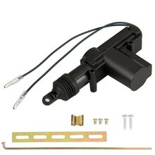 Universal Heavy Duty Power Door Lock Actuator Motor 2 Wire 12V Car Locking System Actuator Single Gun Type Kit