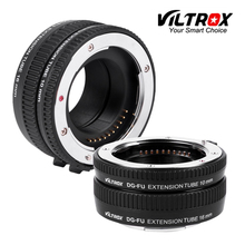 Viltrox DG-фу Автофокус AF Metal Макрос Удлинитель кольцо Переходники объективов крепление для Fujifilm X x-pro2 X-T2/ t1 x-t20/t10 x-e2s A10