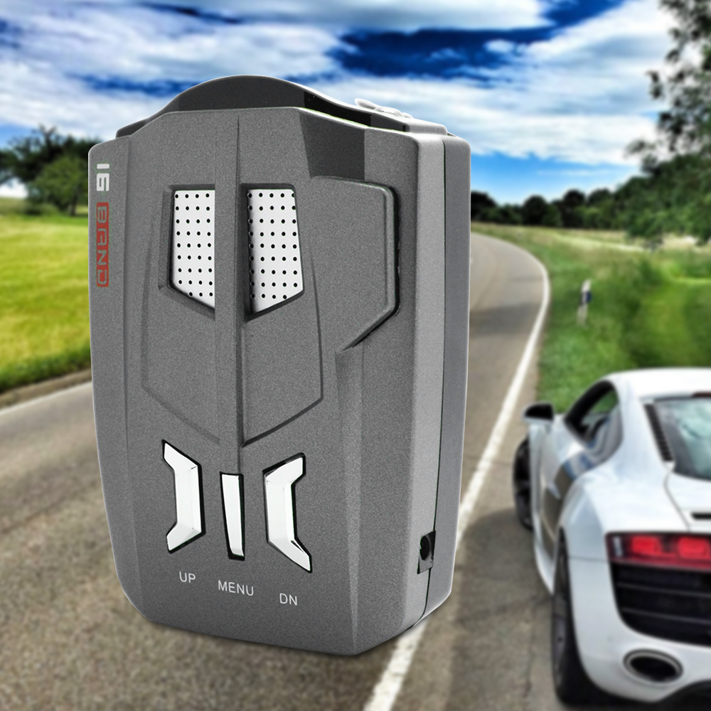 Image 5 - Boruit Car Police Laser 180 Degree V9 LED Display Anti Radar Detector Speed Voice Alert Warning for Russia / English-in Radar Detectors from Automobiles & Motorcycles