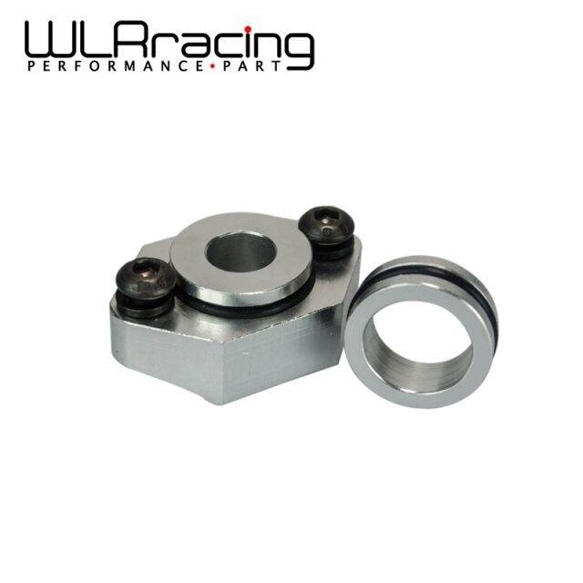 WLR RACING-อลูมิเนียมแผนที่ SENSOR สำหรับ VW AUDI 1.8T ชุดหน้าแปลน GOLF GTI ด้วง JETTA A4 ชุดท่อ WLR-AD03