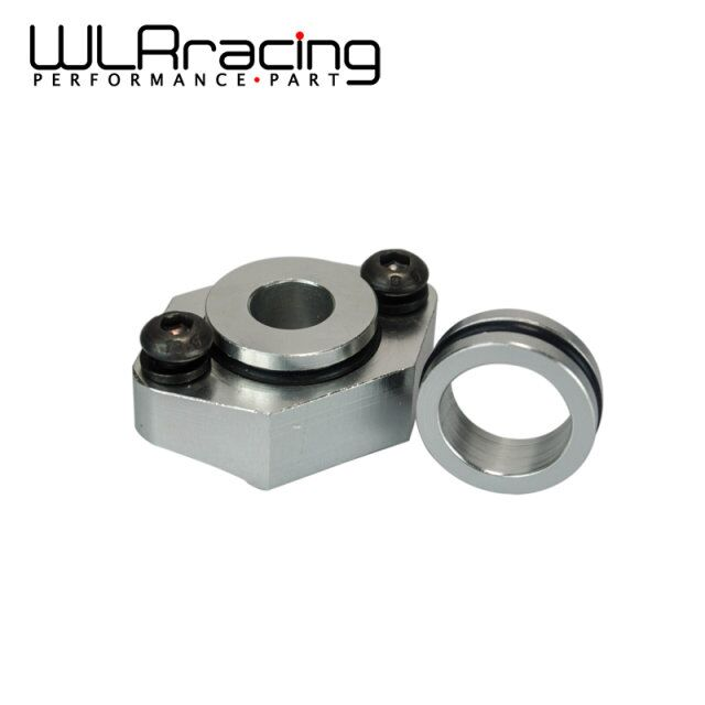 WLR RACING - ALUMINUM MAP SENSOR FOR VW AUDI 1.8T FLANGE KIT GOLF GTI BEETLE JETTA A4 PIPING KIT WLR-AD03