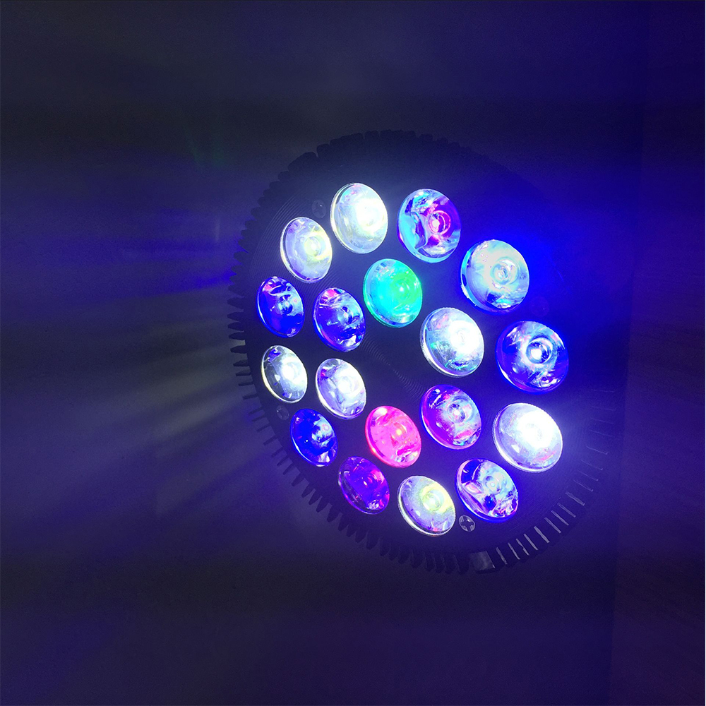 54W LED Full Spectrum Lamp Grow Fish Tank Reef Coral Aquarium Light LED