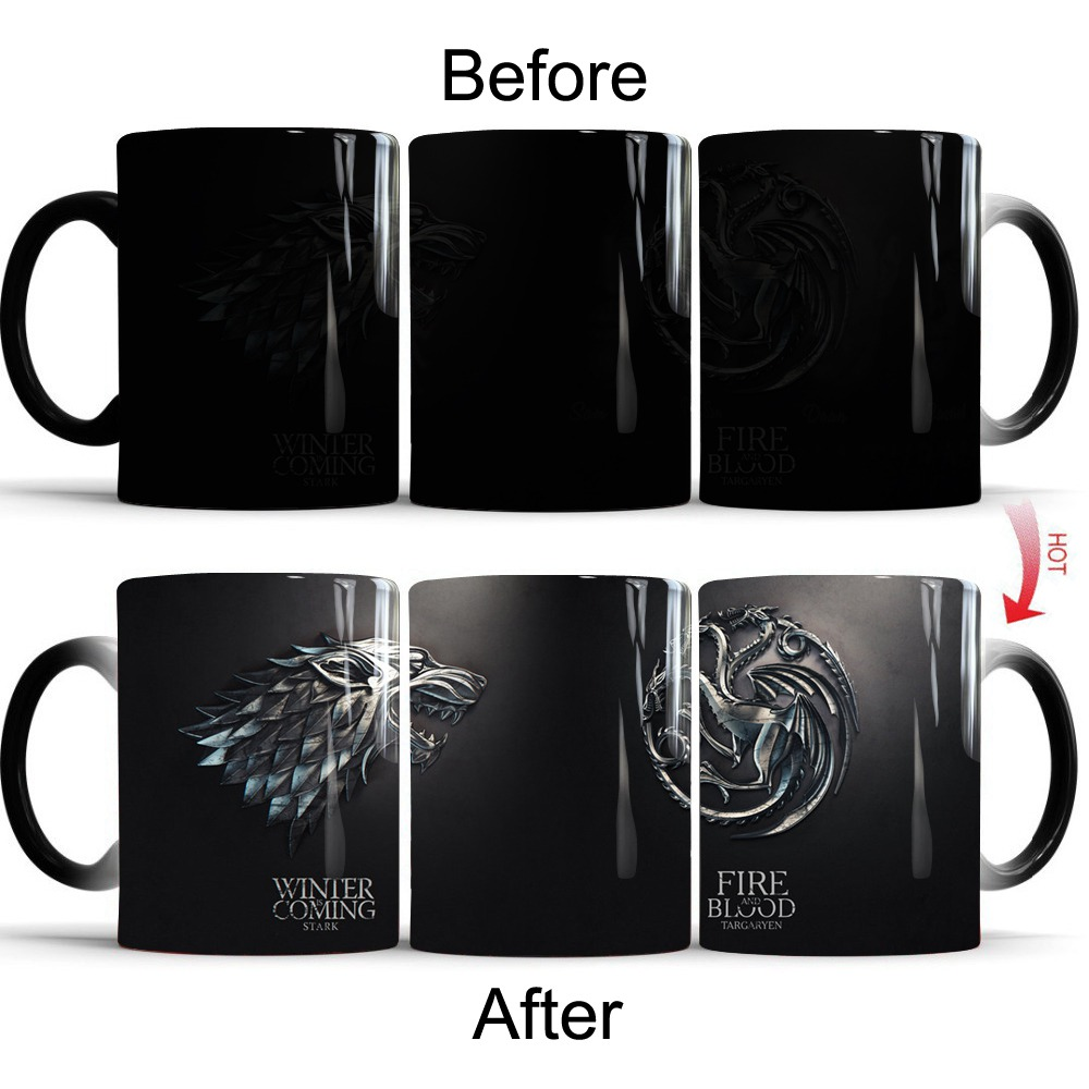 Color Changing Mug Game Of Thrones 16