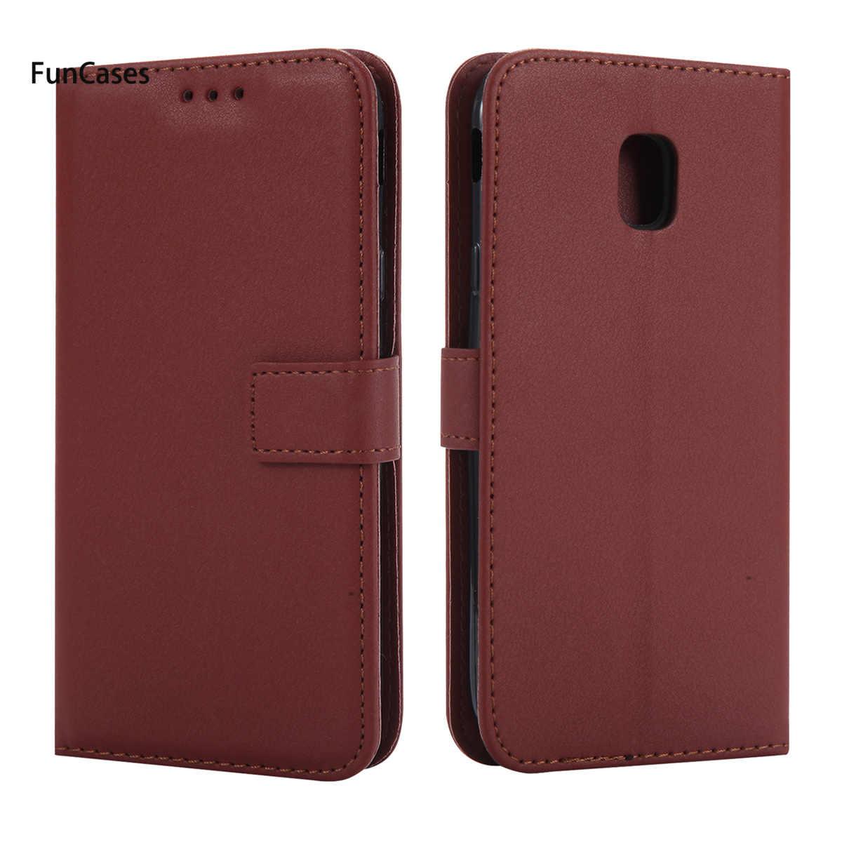 Etui en cuir PU pour Samsung J7 2017 Version européenne coque de téléphone en Silicone Fundas étui en cuir PU Samsung Galaxy J730 EU