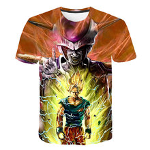 Dragon ball T-shirt 3d anime man funny hip hop 2019 Japanese menswear vintage Asian size m-5 xl