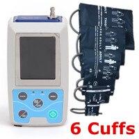 24 hours Ambulatory Blood Pressure Monitor System ABPM Free 6 cuffs! ABPM50