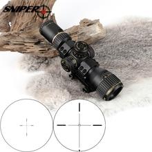 FRANCOTIRADOR VT 3-12X32 Compacto Primer Plano Focal Vidrio Grabado Retículo Tactical Hunting Rifle Scope Sight Visores Ópticos