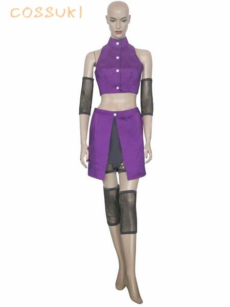 Free Shipping Newest Naruto Shippuden Ino Yamanaka Uniform Cosplay Costume Perfect Custom For You