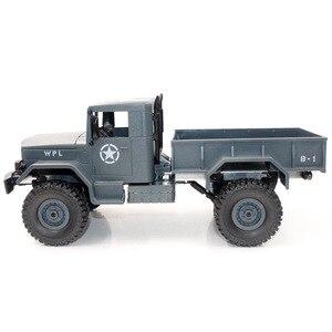 Image 5 - 1/16 caminhão militar de controle remoto fora de estrada modelo de carro rc escalada carro dublê quatro rodas fora de estrada caminhão militar crianças brinquedo
