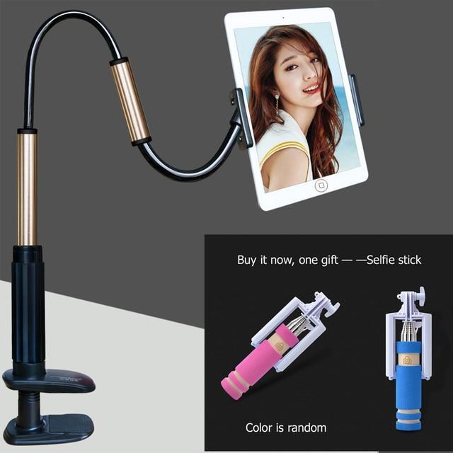 Tablet pc ficar 130 cm apoio 4'to 14 polegada 2.5 kg equipamento adequado para ipad pro stand titular tela dom gratuito (selfie stick)