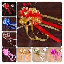 10Pcs/lot Packing Belt Multicolor Ribbon Wedding DIY Christmas Festival Decor Supplies Accessories Gift Packing Belt T20