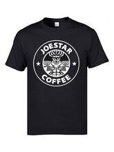 JoJo Coffee Adventure Anime T Shirts Logo 2019 Newest Listing Brand Clothing 3D Print Slim Fit Mens Tshirts Custom Own Teeshirt