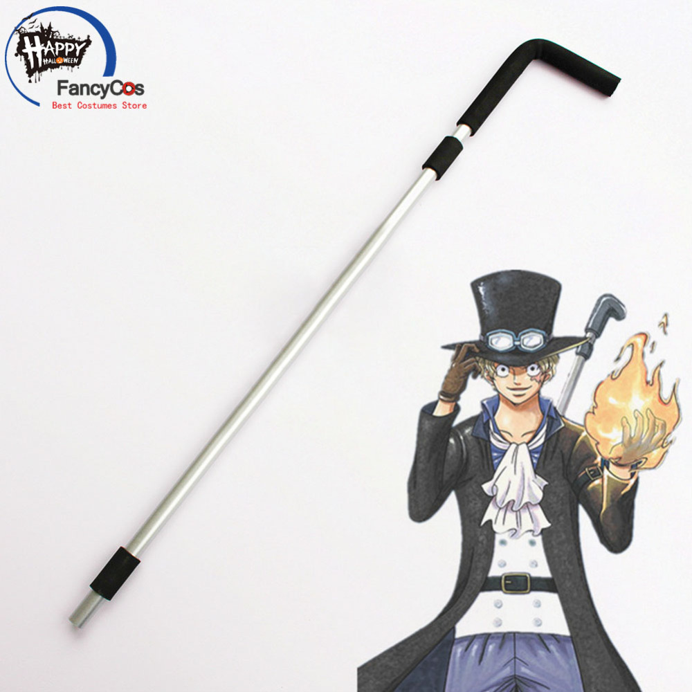 One plece Revolutionary Army Sabo water pipe Weapon Cosplay Action Figure Collectible Model Toy Halloween