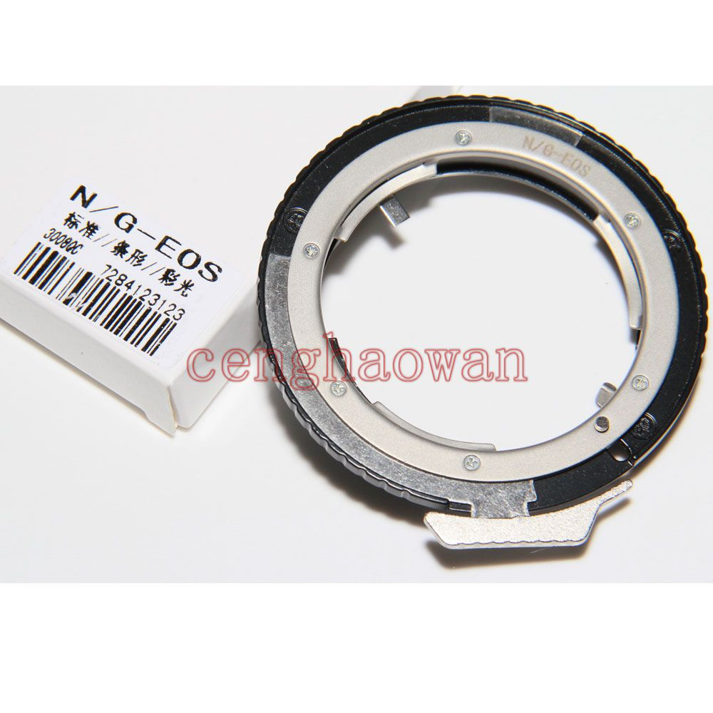N/G Adjust Aperture Adapter Ring For Nikon G/F/AI/S/D Lens To Canon 1d 5d3 6d 7d 60D 80d 550d 650d 760d 1100d Camera