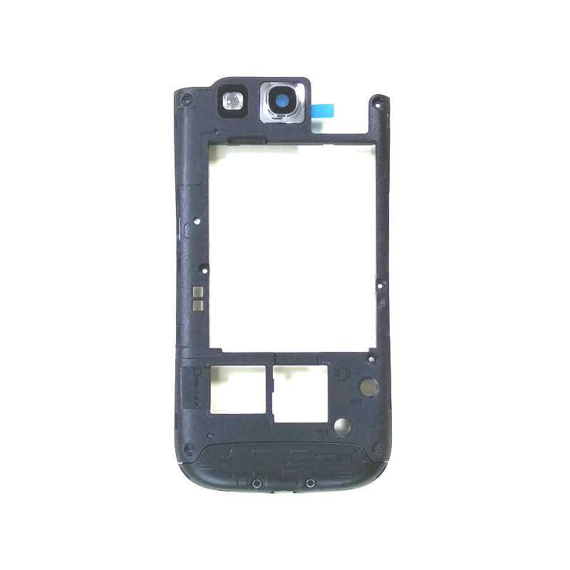 Middle Frame With Camera Glass For Samsung Galaxy S3 I9300 I9305 S3 Neo 9300i 9308i Cell Phone