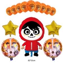 18 inch Movie COCO MIG Theme Aluminium Foil Balloons Party Decoration Rotate Balloon Birthday Supplies