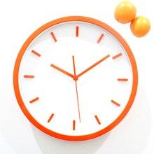 Saat font b Clock b font 3D orange font b wall b font font b clock