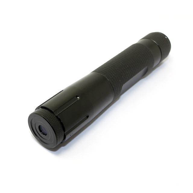 850nm <5mW Fokussierbar IR Infrarot Laser Pointer mit schwarz fall