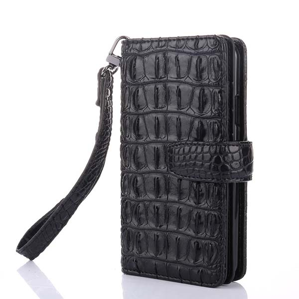 3D Bump Alligator Crocodile Skin Pu Leather Phone Case For Oppo R17 Pro