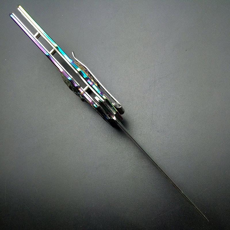 Alta calidad exquisita Rainbow Titanium Spider Patter Práctica - Herramientas manuales - foto 6