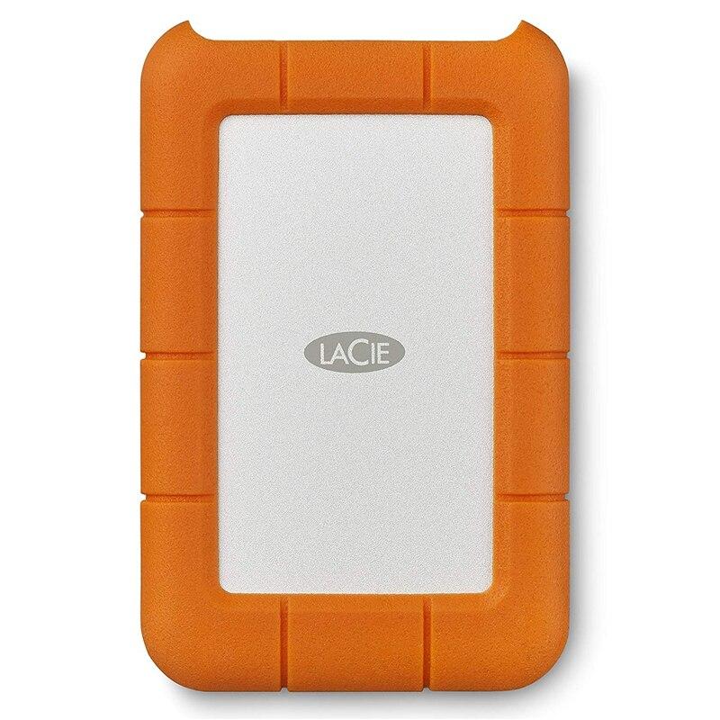 Seagate LaCie Прочный 1 ТБ 2 ТБ 4 ТБ 5 ТБ USB-C и USB 3,0 Портативный жесткого диска 2,5 внешний жесткий диск для портативных ПК