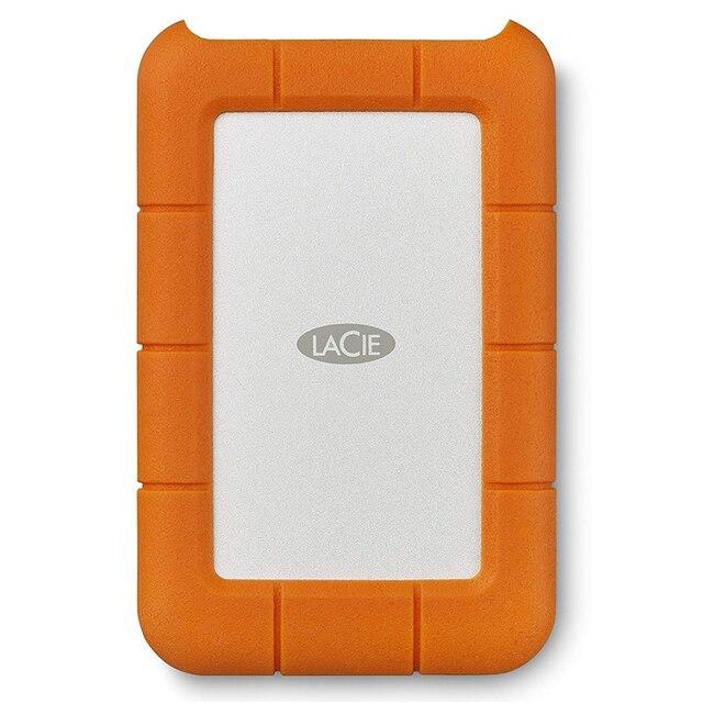 "Seagate LaCie Robuste 1TB 2TB 4TB 5TB USB C und USB 3.0 Tragbare Festplatte 2,5 ""Externe HDD für PC Laptop"