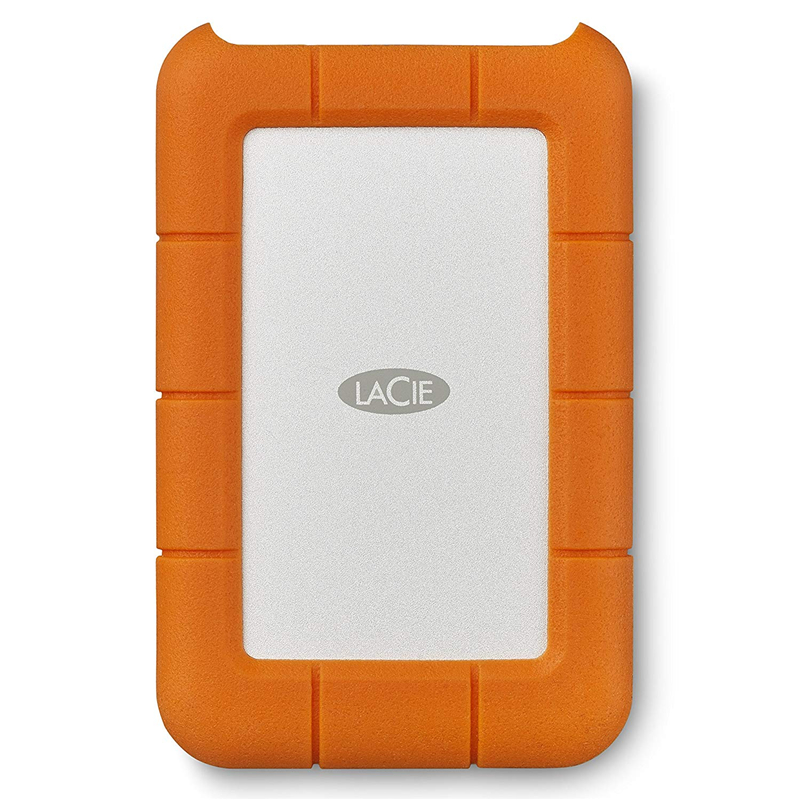 """Seagate LaCie Rugged 1TB 2TB 4TB 5TB USB-C and USB 3.0 Portable Hard Drive 2.5"""" External HDD for PC Laptop"""