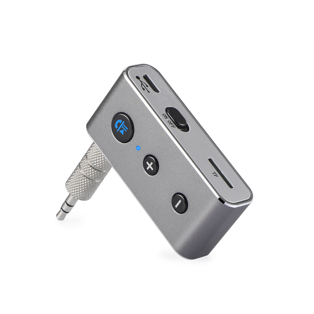 3.5mm Bluetooth 4.2 Receiver Rechargeable Music Audio Adapter Hands-free Car Kit AUX A2DP Receiver Bluetooth Adapter