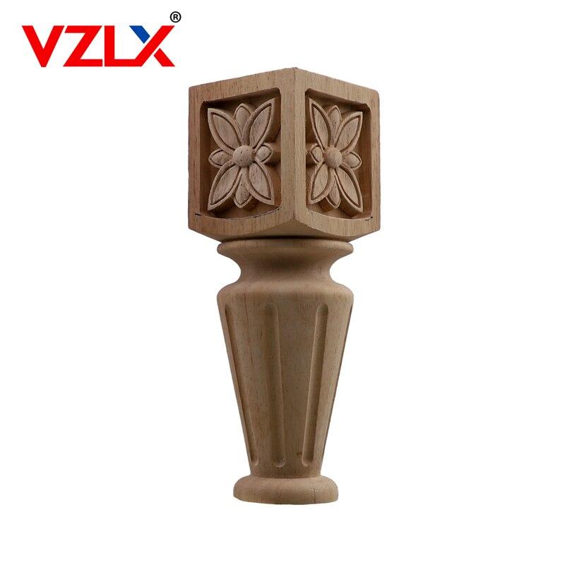 Style européen sculpture sur bois décalque meubles de maison sculpté Applique fenêtre porte décor en bois Figurines artisanat jardin décoration