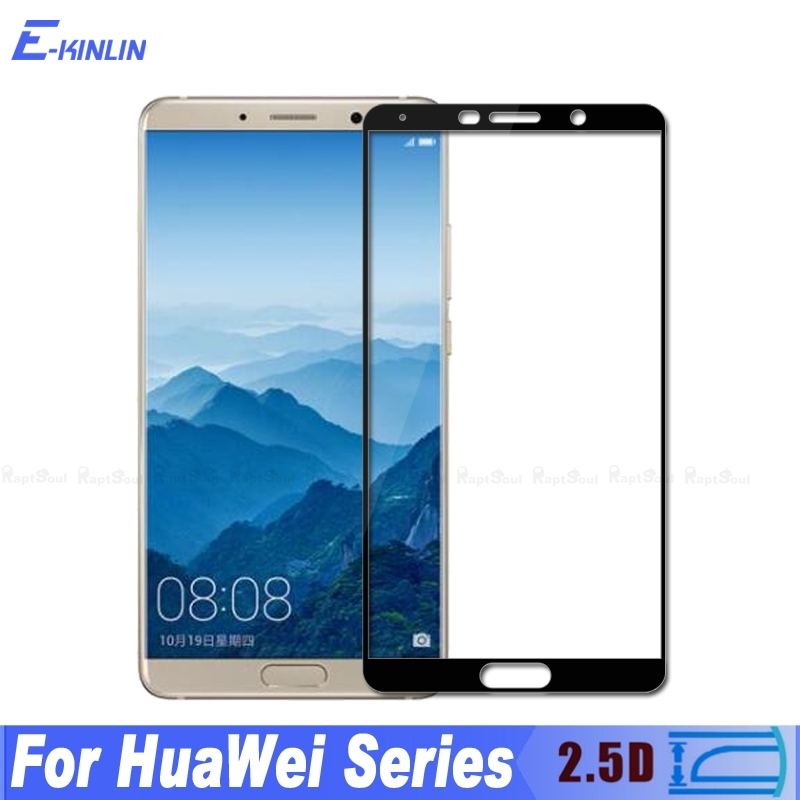 0.3mm 2.5D Full Cover Tempered Glass For Huawei Mate 10 Lite Pro X Nova 2s 2i For Honor 7X 9i Screen Protector Protective Film