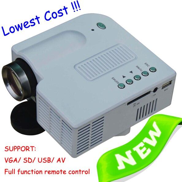 Хороший вид микро-hdmi мини-проектором из светодиодов лампы портативный проектор пико Projektor VGA SD USB игры PS Xbox используется прав потребителей Proyector