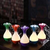 IVYSHION Vase Bottle Home Air Humidifier Mini USB Aroma Essential Oil Diffuser Aroma Ultrasonic Humidifier Mist