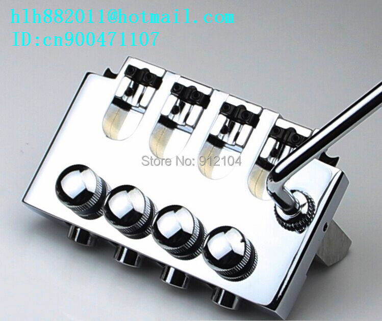 free shipping new 4 strings electric bass guitar double wave bridge in chrome L15 free shipping 2017 new ernie ball musicman sting ray 4 strings white electric bass guitar in stock active pickups 1 15