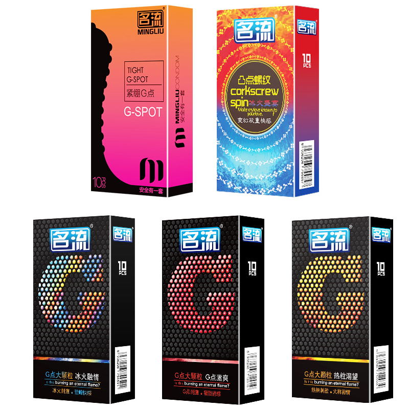 PERSONAGE 10Pcs 5 Types G spot Delay Ejaculation Big Particle Ultra Thin Condoms For Men брюки personage цвет синий