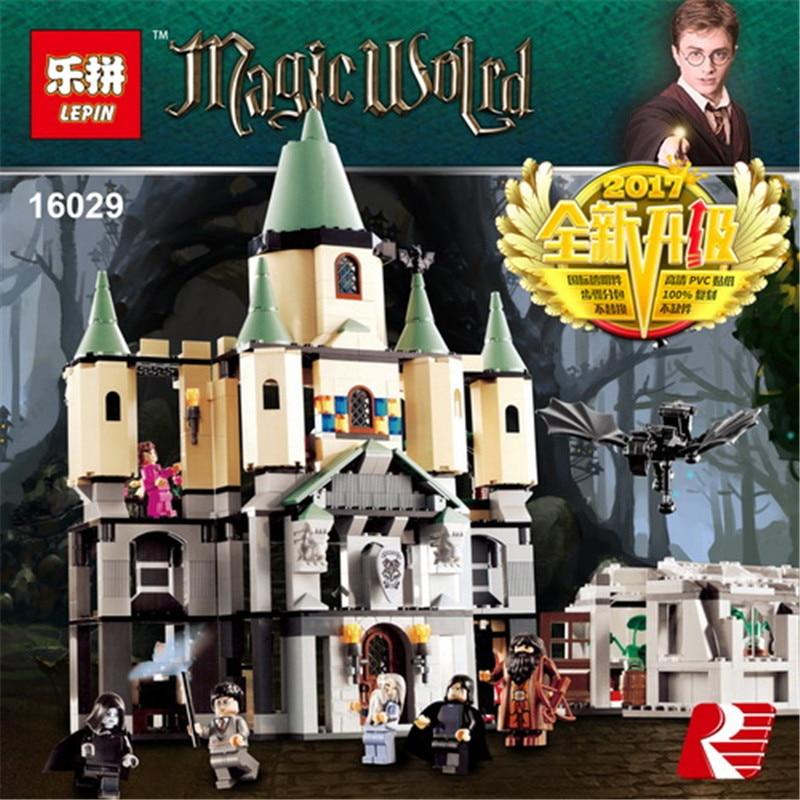 Lepin 16029 1033Pcs Movie Series The magic Hogwort Castle Model set Building Blocks Bricks Educational Toys for Children 5378