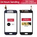 Тестирование AAA Качество Датчик Сенсорный Экран Для Samsung Galaxy CORE Prime G361 G361H Сенсорный Экран Стеклянная Панель Черный Клей