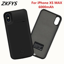 ZKFYS 6000mAh High Quality Ultra Thin Fast Charger Battery Cover For iPhone XS MAX Case