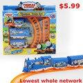 Thomas tren, juguete vía del tren eléctrico, juguetes de los niños clásicos, toda la red de menor precio, envío gratis