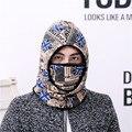 Novo Outono Inverno Quente Hat Mulheres Cap Espessamento Chapéu de Lã Dos Homens Casuais Quente Boca-muffle 2 Estilos Promoção Sets10 moda Chapéus