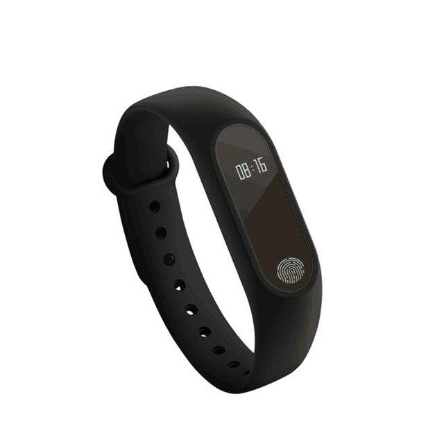 Wrist Sport Fitness Watch Bracelet Display Sports Tracker Digital LCD Walking Pedometer Run Step Calorie Counter WristBand 2