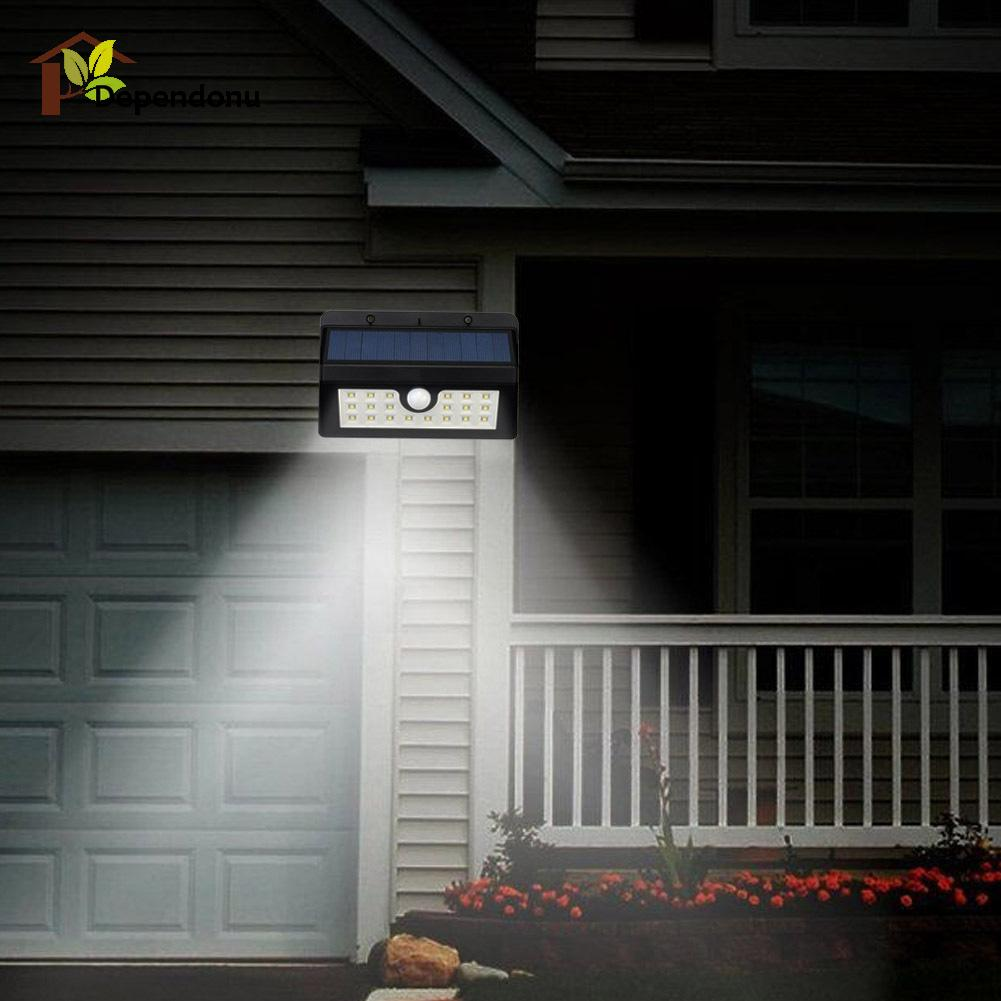 Outside Solar Lights Us 12 01 27 Off 20 Led Motion Sensor Solar Light Outdoor Led Flood Lights Spotlights Garden Solar Powered Lamp Emergency Lighting In Solar Lamps
