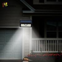 Solar Powered 20 LED PIR Motion Sensor Light Outdoor Solar Led Flood Lights Spotlights Garden