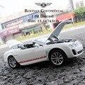 MZ Modelo Bentley Continental Supersports ISR Escala 1:32 Aleación Diecast Modelo de Juguete Del Coche Del Coche