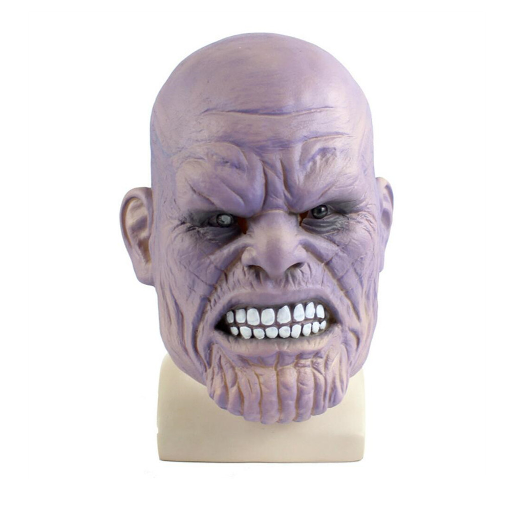 New Thanos Masks Cosplay Movie Avengers Infinity War Latex Mask Prop