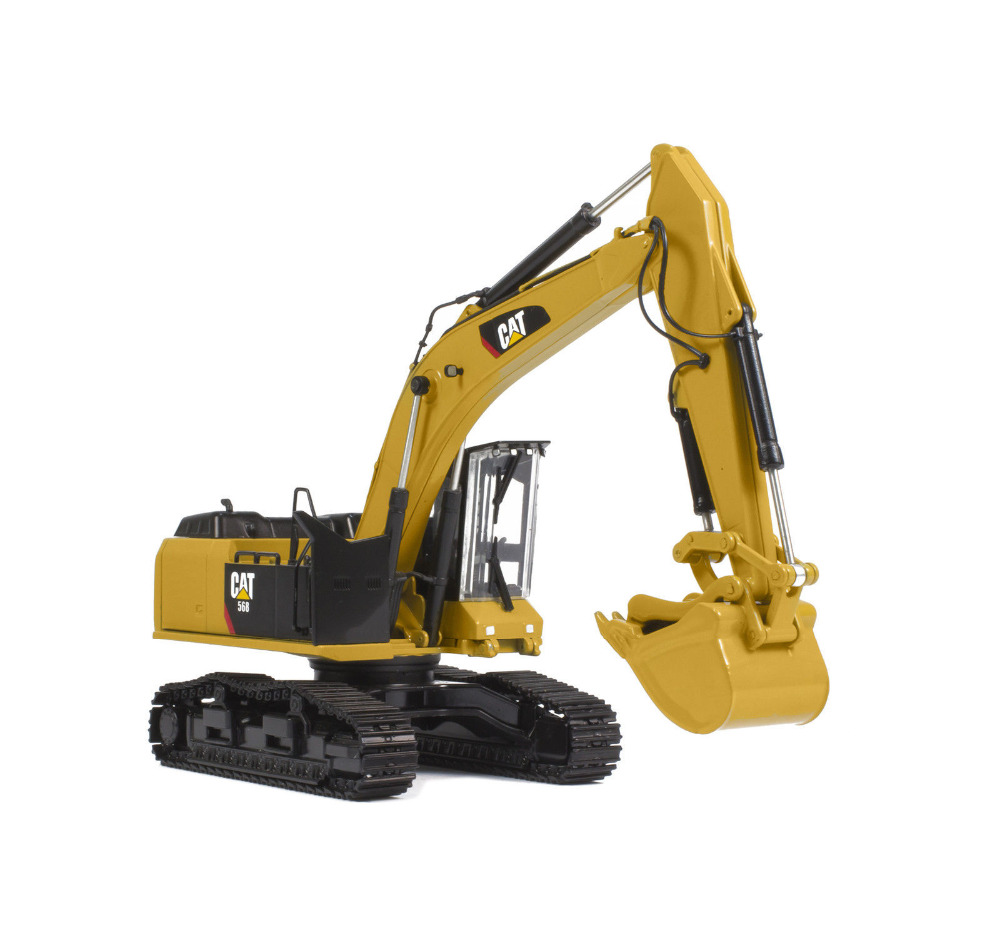 tonkin tr40003 cat caterpillar 568gf road builder with thumbs