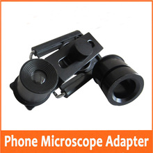 30mm Eyepiece Lens Diameter Universal Mobile Phone Bracket Mount for Medical Lab Laboratory Biological Stereo Microscope цены