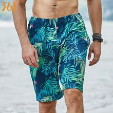 361 Men Swimming Shorts Quick Dry Surf Beach Pants Board shorts Sports Plus Size Mens Trunks Swimwear Bathing Short
