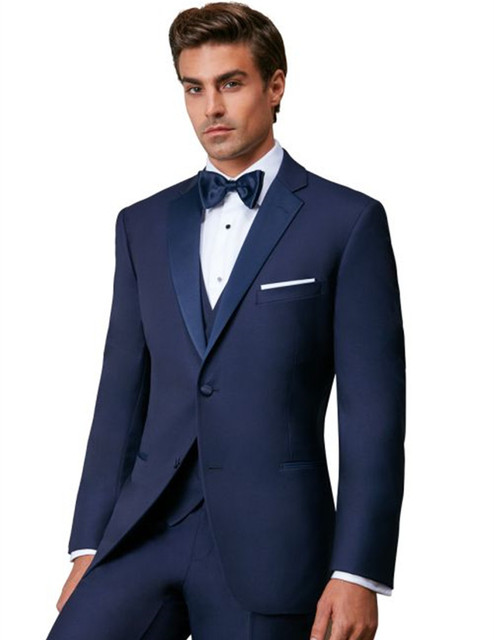 men\'s suits royal blue tuxedo for men bridegroom suit dinner ...