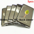 Wholesale 5pcs/lot 30GB Metal Back Rear Case Housing Cover Shell for ipod 5th gen video